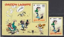 France 2001 - Comics: Gaston Lagaffe, YT 3370+BF 34, Neufs** - France