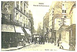 [75] Paris > Photos D'une Carte Postale  De La Rue De Procession   (Format 9 X 14) - Francia