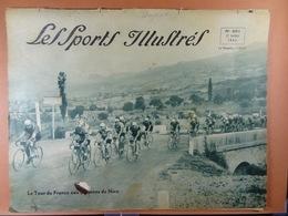 Les Sports Illustrés 1934 N° 691 Tour De France Thil-Devos Dans Les Alpes Magne Martano Beveren Motos Francorchamps - Deportes
