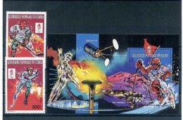 A23484)Olympia92: Kongo 1251 - 1252 A** + Bl 64 A** - Hiver 1992: Albertville