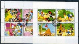 A23738)Disney: Sharjah 1238 - 1247 KLB Gest. - Disney