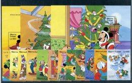 A23747)Disney: Sierra Leone 1852 - 1863** + Bl 201 - 203** - Disney