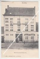 BERCHEM BERCHEMSCHE STEENWEG EN AFSPANNING DE MOOREN TOREN / Attentie: KAART IS BIJGEKNIPT - Antwerpen