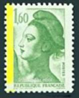 France Variété N° 2219.** Liberté De Gandon Le 1f60 Bande De Phosphore à Gauche Aussi Maury N° 2218b - Errors & Oddities