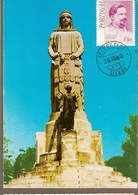 Portugal & Circulated, Monument To Dr. António José De Almeida, Lisbon Arco Do Cego, Lisbon 1980 (1) - Monumenti