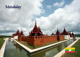 Myanmar Mandalay Palace Burma New Postcard - Myanmar (Burma)