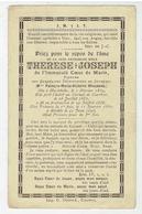 Révérende Mère THERESE JOSEPH - Prieuré Des Carmélites De Courtrai - Née Harlebeke 1834 - 1896 - Religion & Esotericism