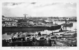 PIE-Z RO-19-3394 : BOULOGNE SUR MER. APRES LA GUERRE 1939-1945. GARE MARITIME. - Boulogne Sur Mer