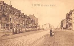 Koksijde  Coxyde Zeelaan Avenue De La Mer  Tramsporen  Villa Héléna      M 1512 - Koksijde