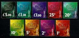 Gran Bretaña Tasas Nº 98/106 Nuevos. Cat.65€ - Postage Due