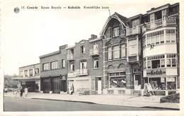 Koksijde  Coxyde Koninklijke Baan Route Royale  Photo Kodak Cine Winkel      M 1514 - Koksijde