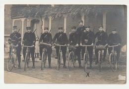 *** GUERRE 1914-18 *** Gaston Champenois *** ECLAIREUR CYCLISTE ***  Carte Photo *** - Guerra 1914-18