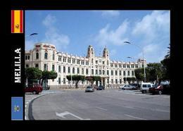 Melilla City Town Hall New Postcard - Melilla