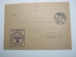 1939 , LINZ , Klarer Stempel Auf Militärbrief Inf.Rgt. - Briefe U. Dokumente