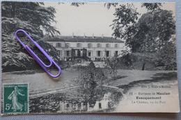 EVECQUEMENT : Le Château Vu Du Parc En 1909 - Meulan