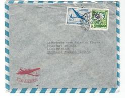 COVER CORREO URUGUAY- VIA AIR MAIL - MONTEVIDEO - FRAKFURT - GERMANY. - Uruguay