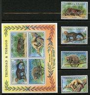 Trinité Et Tobago, Yvert 380/383**&BF25**, Scott 292/295&295a**,  MNH - Trinité & Tobago (1962-...)