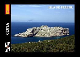 Ceuta Perejil Island North Africa New Postcard - Ceuta