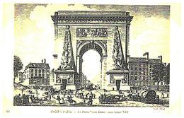 [75] Paris > La Porte   Saint Denis  Sous  Louis XVI   (Format 9 X 14) - Francia
