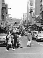 Photo Afrique Du Sud Durban Grouillement De Population 1995 - Afrique