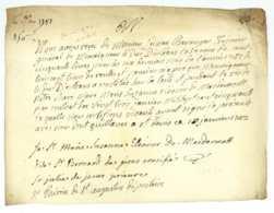 Louise-Marie De FRANCE (1737-1787) Fille Du Roi Louis XV Carmelite Autographe Saint-Denis 1782 - Historische Documenten