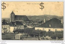 64 Monein - La Place Marcadieu (animée) - France