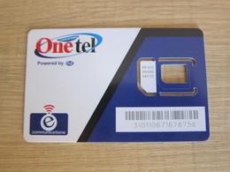 Guam Onetel SIM Card, Only Frame, No Chip - Guam