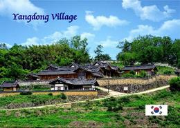 South Korea Yangdong Folk Village UNESCO New Postcard Südkorea AK - Korea (Zuid)