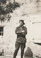 Photo Juin 1915 MARAINVILLER - Le Capitaine Poirier, Sous Officier De Chasseur Alpin (A216, Ww1, Wk 1) - War 1914-18