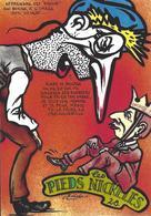 CPM Sucre Satirique Caricature Algérie Jacques LEBAUDY Empereur Du Sahara Sugar Non Circulé Les Pieds Nickelés - Satirical
