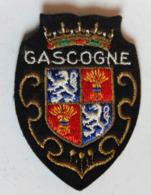 écusson Brodé Ancien Gasgogne Armoiries Blason - Ecussons Tissu