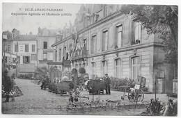 CPA 95 L ISLE ADAM PARMAIN EXPOSITION AGRICOLE ET HORTICOLE 1905  N° 7 - L'Isle Adam