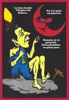 CPM Sucre Satirique Caricature Algérie Jacques LEBAUDY Empereur Du Sahara Sugar Non Circulé Lune Pierrot - Satirical
