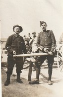 Photo Juin 1915 MARAINVILLER - Le Dragon Viel Et Le Chasseur Alpin Bressieu (A216, Ww1, Wk 1) - War 1914-18