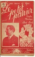 PARTITION ANCIENNE / LE PETIT PANIER - GEORGEL - Spartiti