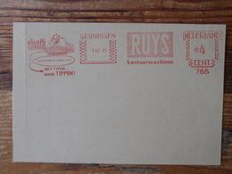 Typewriter, Olivetti, Ruys - Briefmarken