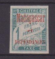 MADAGASCAR : T N° 7 * . TB . 1896 . ( CATALOGUE YVERT ) . - Madagascar (1889-1960)