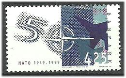 Denmark  1999 50th Anniversary Of The North Atlantic Treaty Organization (NATO) Mi 1210 MNH(**) - Danimarca