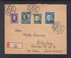 Slowakei R-Brief Ladce 1939 Nach Deutschland - Slowakische Republik