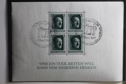 Deutsches Reich Block 7 Gestempelt Mit Sonderstempel #TM702 - Ohne Zuordnung