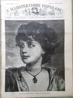 L'illustrazione Popolare 22 Novembre 1885 Calderon Pampa Rossini Vita In Africa - Ante 1900