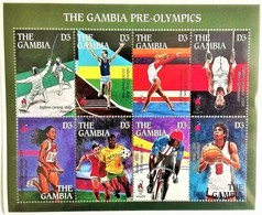 Gambia 1995**Mi.2147-54  Pre-Olympics , MNH [12;64] - Verano 1996: Atlanta