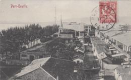 Egypte - Port Tewfik - Port Suez - Editor Max Rudmann - Postmarked 1910 Port-Said - Suez