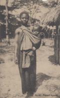 Malawi - Femme Et Son Bébé - Tribu Nyassa - Nells N° 80 - Malawi
