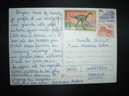 CP Pour La FRANCE TP STENONYCHOSAURUS 280 L + TP 80 L + TP 20 L OBL.MEC.2-10 79 SUCEAVA - Cartas