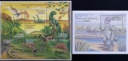 Mozambique 2000**Mi.1687-95 + Bl.57  Dinosaurs , MNH  [7;12] - Préhistoriques