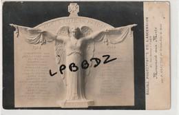 CPA - PHOTO - 75 - PARIS 17e - EGLISE PROTESTANTE De L'ASCENSION - Monument Aux Morts Par P. Silvestre - RARE - Distrito: 17