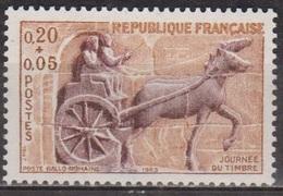 Journée Du Timbre - FRANCE - Char De Poste Gallo-romain - N° 1378 ** - 1963 - Nuovi