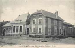 CPA 54 Meurthe Et Moselle Flirey La Mairie Et Les Ecoles - Other Municipalities