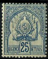 Túnez Nº 25 Con Charnela. Cat.25€ - Tunisia (1888-1955)